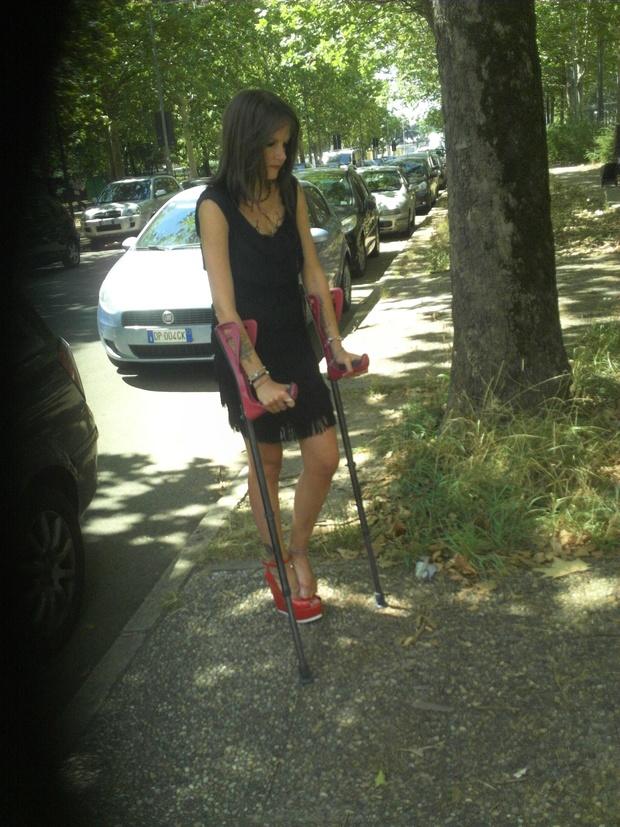 Model Crutching 1 (4:43 video)