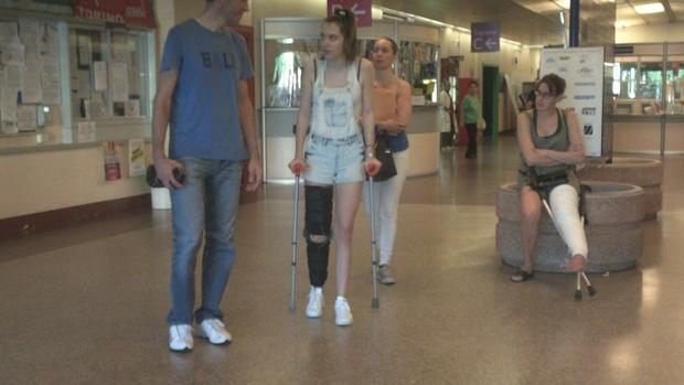 (1:51 video) Italian real crutching 2