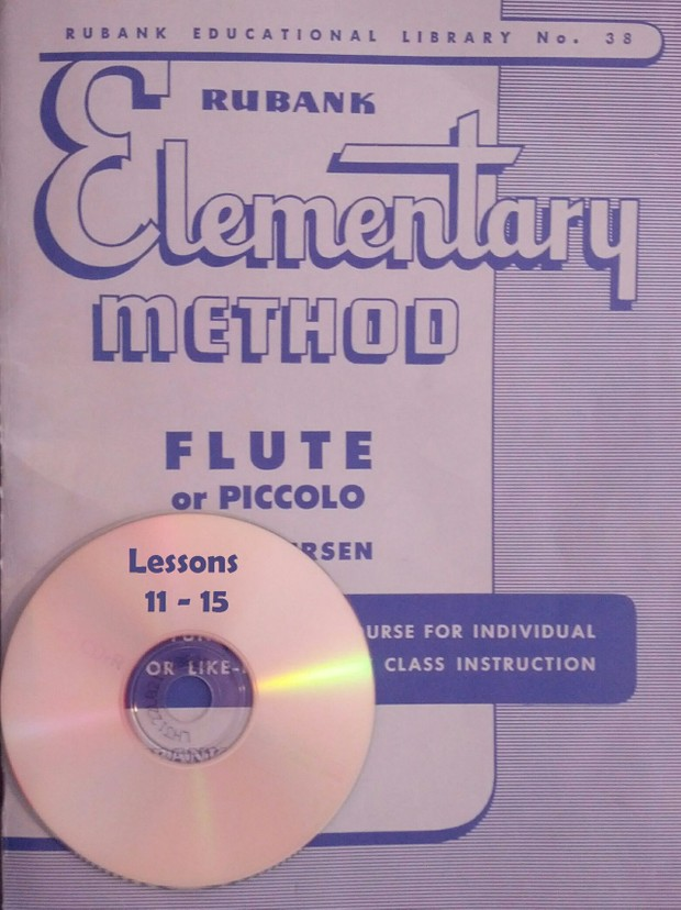 Play-Along MP3 for Rubank Elementary Method for Flute - Lessons 11-15