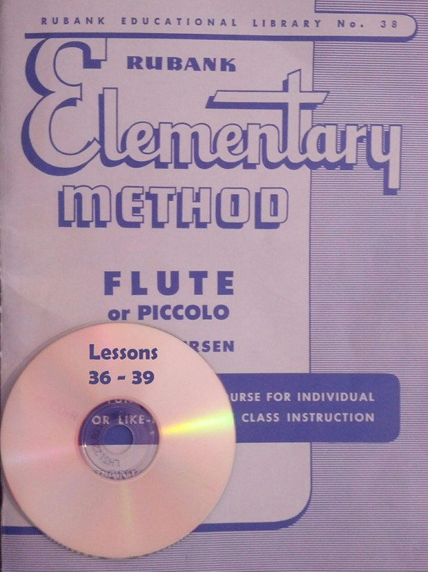 Play-Along MP3 for Rubank Elementary Method for Flute - Lessons 36-39
