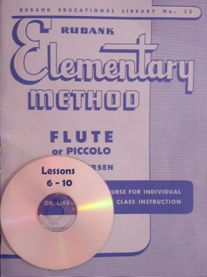 Play-Along MP3 for Rubank Elementary Method for Flute - Lessons 6-10