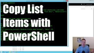 Companion PowerShell for working with SharePoint Lists