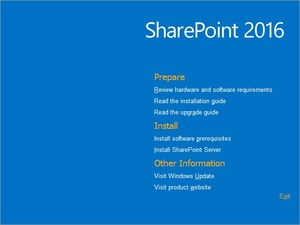 SharePoint Server 2016 Config Guide Only