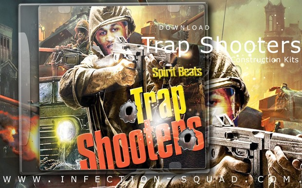 Spirit Beats - Trap Shooters -   Construction Kits [MIDI   WAV   FLP]