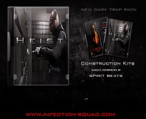Heist | Dark Trap Construction Kits [MIDI | WAV | FLP]