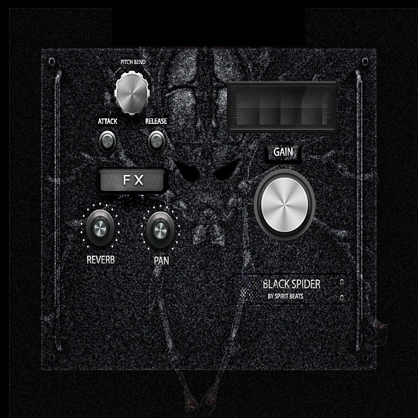 Black Spider (MAC OS VST, AU)
