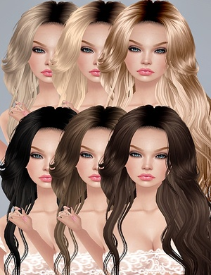 ❀ Hairs Blonder + Brown*ᶜᵒᵐᵇᵒ❀-125