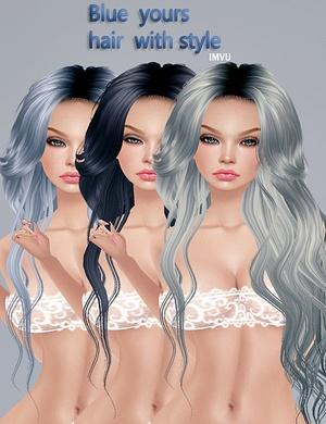 ❀ Hairs*ᴮˡᵘᵉ ❀-125