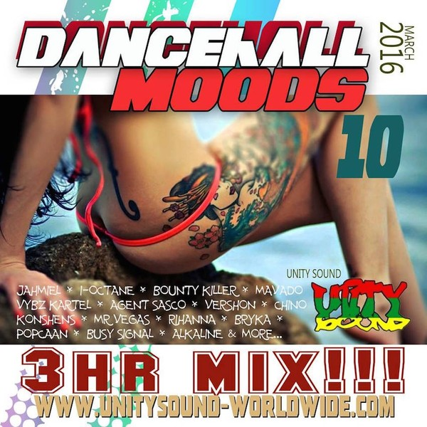 [Single-Track Download] Unity Sound - Dancehall Mood v10 - 3hr Mix 2016