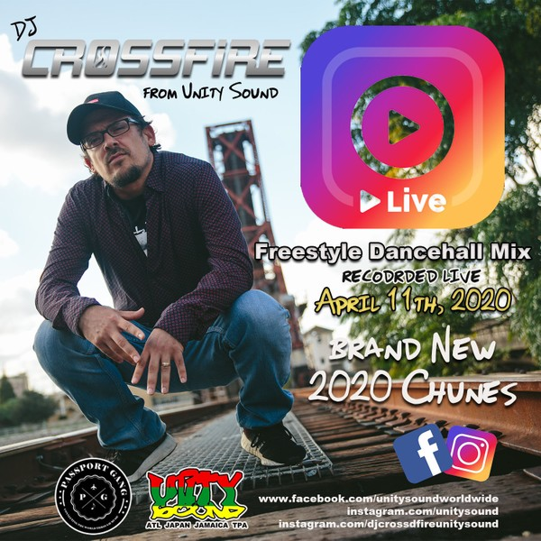 [Single Tracked Download] Unity Sound - Freestyle Jugglin Brand New 2020 Dancehall on IG Live 2020
