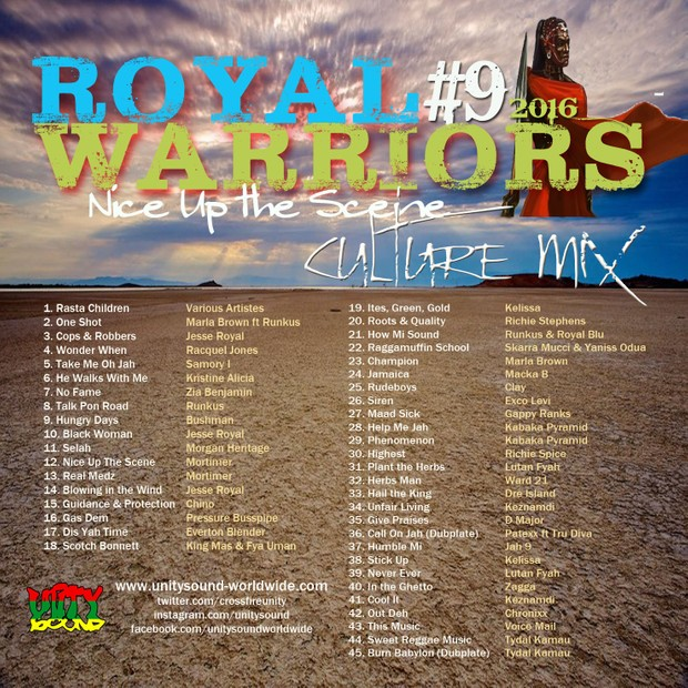 [Multi-Tracked Download] Unity Sound - Royal Warrior 9 - Culture Mix - August 2016