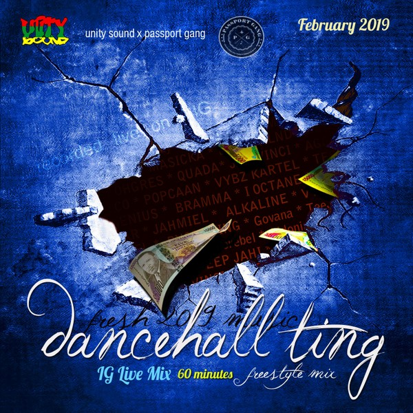 [Single-Track Download] Unity Sound - Dancehall Ting v3 - IG Live Freestyle Mix - Feb 2019