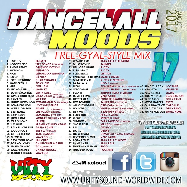 Multi-Tracked Download] Dancehall Moods 17 - Free Gya