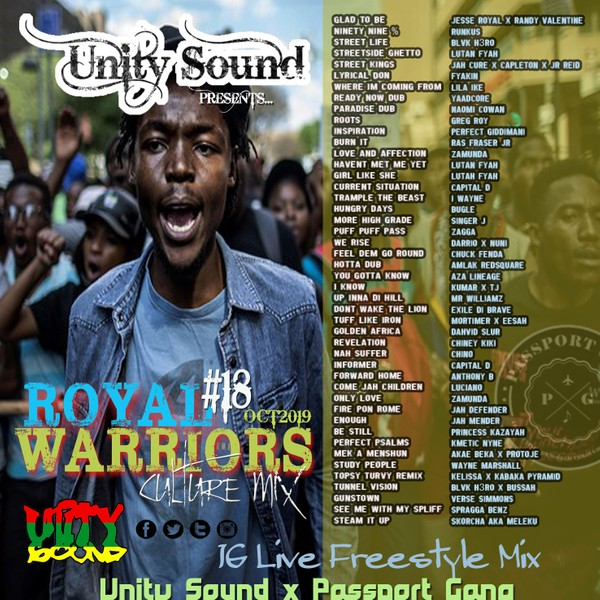 [Multi-Track Download] Unity Sound - Royal Warriors v18 - Culture Mix 2019