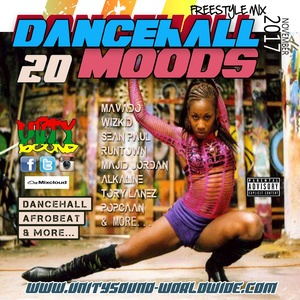 [Single-Tracked Download] Unity Sound - Dancehall Mood 20 - Suave Mix - Dancehall 2017
