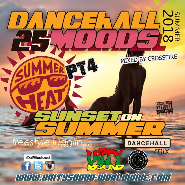 [Single-Tracked Download] Unity Sound - Dancehall Mood v25 - Sunset on Summer - Summer Heat Pt4 2018