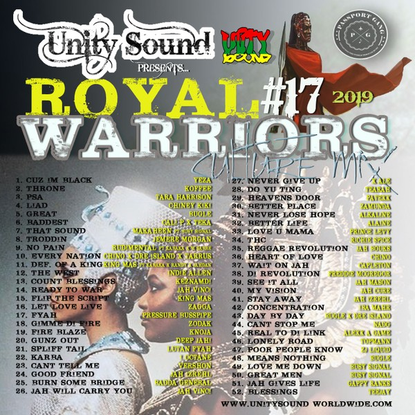 [Multi-Tracked Download] Unity Sound - Royal Warriors v17 - Culture Mix 2019