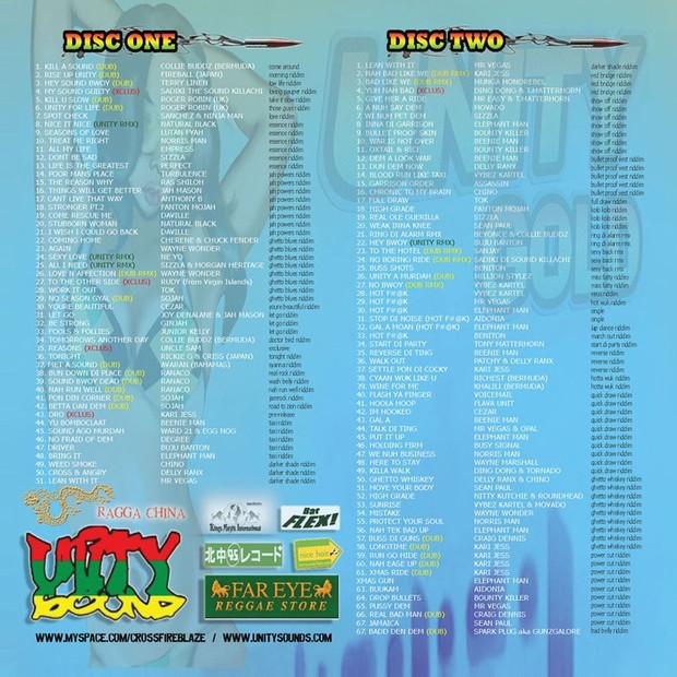 [Multi-Tracked Download] Unity Sound - Unity Gold 2007 - Disc One - Reggae Mix