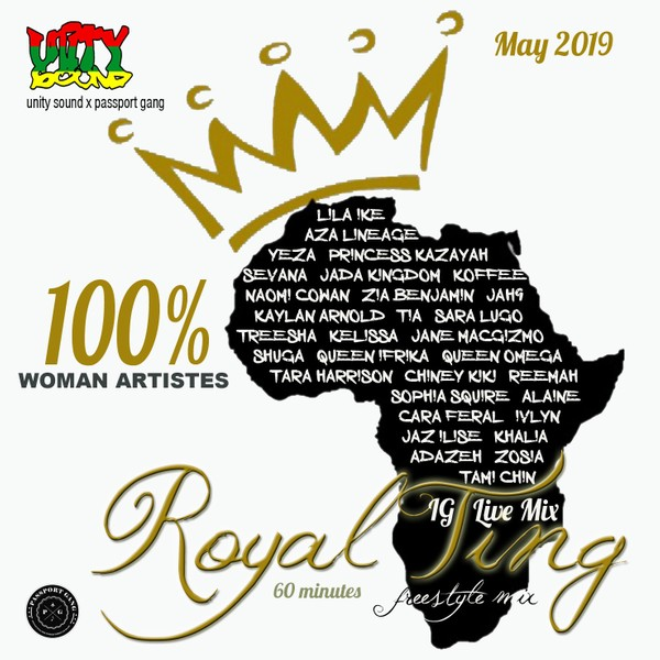[Multi-Track Download] Unity Sound - Royal Ting v1 - All Female Artiste Mix - May 2019