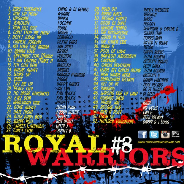 [Multi-Tracked Download] Unity Sound - Royal Warriors v8 - Culture Mix 2016