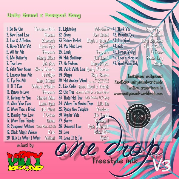 [Multi-Tracked Download] Unity Sound - One Drop Ting v3 - Freestyle Mix 2019