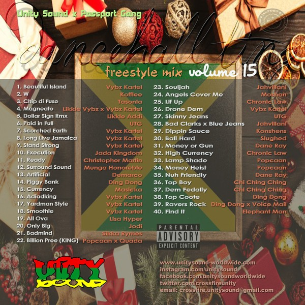 [Multi-Track Download] Unity Sound - Dancehall Ting v15 - Freestyle Mix - 2019