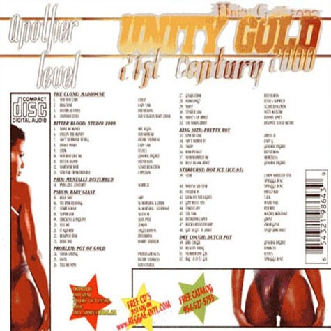 [Single-Track Download] Unity Sound - Unity Gold 2000 - Dancehall Mix
