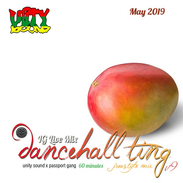 [Single-Tracked Download] Unity Sound - Dancehall Ting v9 - IG Live Mix - May 2019