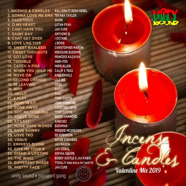 [Single-Track Download] Unity Sound - Incense and Candles - Valentine 2019 Mix