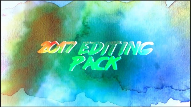 2017 Editing pack