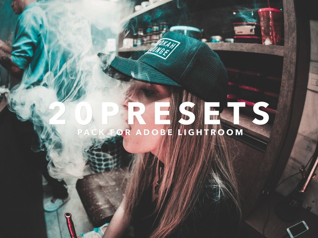20 Lightroom Presets Pack | Instagram Style