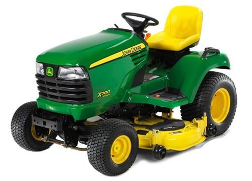 John Deere X700, X720, X724 and X728 Lawn Garden Tractor Technical Manual