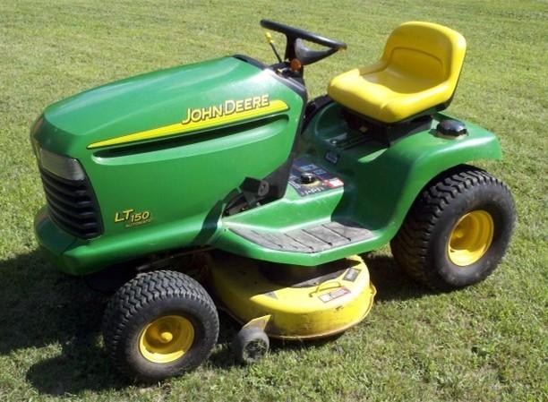 John Deere LT150,160,170,180 Lawn and Garden Tractors Service Repair Technical Manual