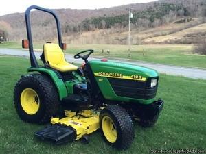 John Deere 4100 Compact Utility Tractors Service Repair Technical Manual