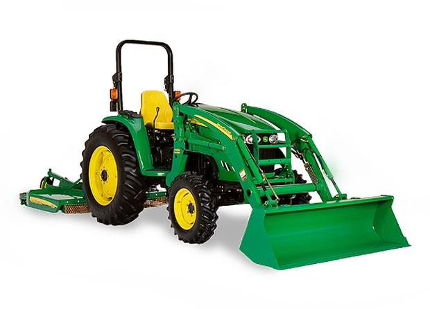 John Deere 4000 Series Compact Utility Tractor Attachments Service Repair Technical Manual