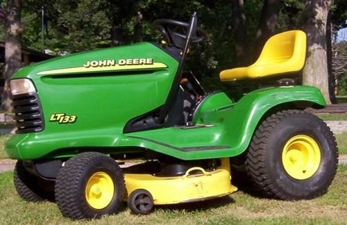 john deere lt133  lt155  u0026 lt166 lawn tractors service