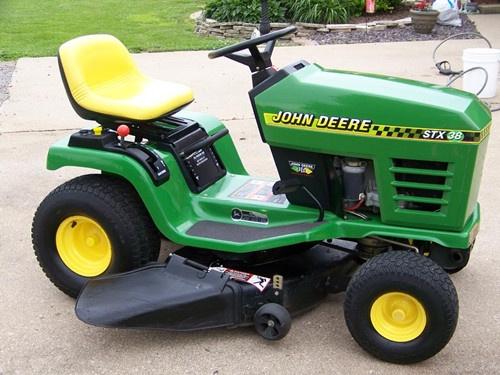 john deere stx30 stx38 and stx46 lawn tractors servi rh sellfy com John Deere Garden Tractors Sale john deere mower stx38 manual