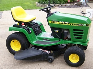 John Deere STX30, STX38, and STX46 Lawn Tractors Service Repair Technical Manual