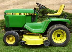 John Deere 322, 330,332 and 430 Lawn and Garden Tractors Service Repair Technical Manual