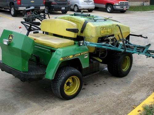 John Deere 1800 Utility Vehicle Service Repair Technical Manual [TM1527 (10APR92)]