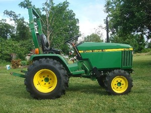 John Deere 670, 770, 790, 870, 970, 1070 Compact Utility Tractors Service Repair Technical Manual