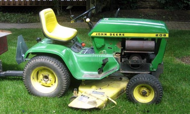 John Deere 200, 208, 210,212,214 and 216 Lawn And Garden Tractors Technical Manual