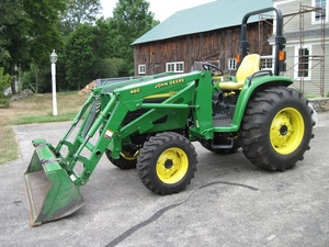 John Deere 4510,4610,4710 Compact Utility Tractors Service Repair Technical Manual