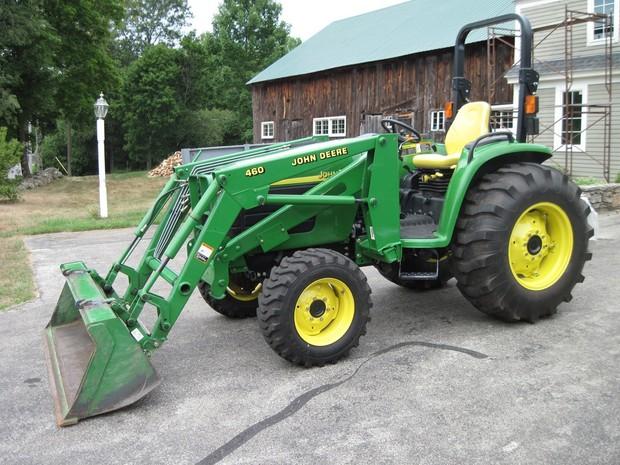 John Deere 4510,4610,4710 Compact Utility Tractors Service Repair Technical Manual