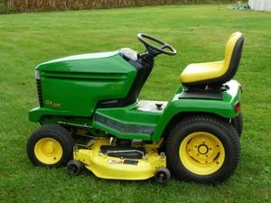 John Deere GX325,GX335 and GX345 Lawn and Garden Tractors Service Repair Technical Manual
