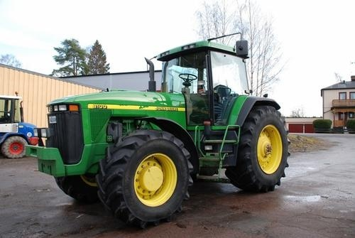 John Deere 8100,8200,8300,8400 8110, 8210,8310,8410 Tractors Service Repair Technical Manual