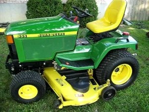 John Deere 415 and 455 Lawn and Garden Tractors Service Repair Technical Manual