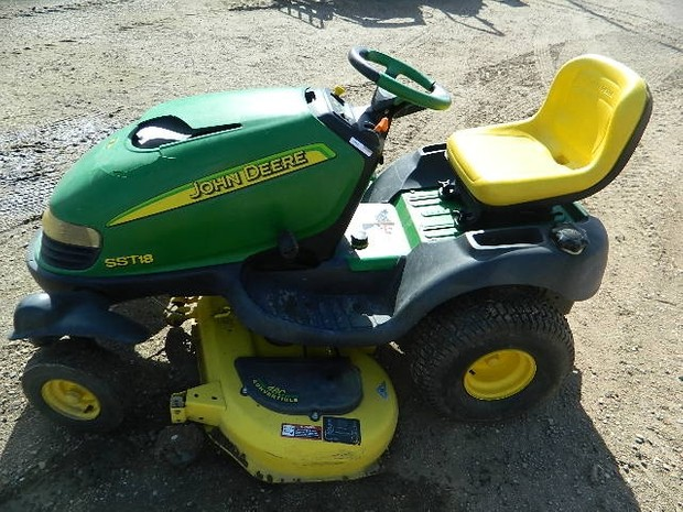 John Deere SST15, SST16 and SST18 Spin-Steer Lawn Tractor Service Repair Technical Manual