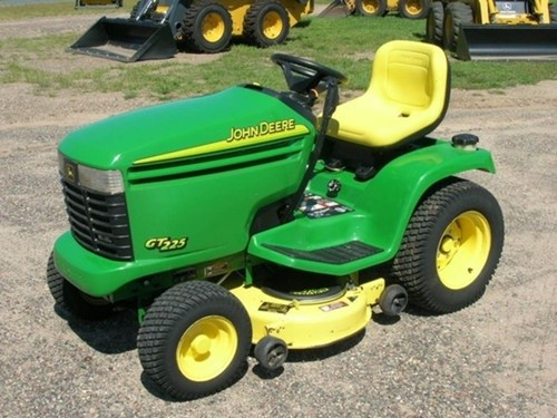 John Deere GT225, GT235, GT235E and GT245 Lawn and Garden Tractors Technical Manual