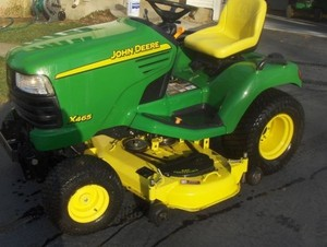 John Deere X465, X475, X485, X575 and X585 Lawn and Garden Tractors Technical Manual